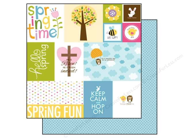 Bella Blvd 12 x 12 in. Paper Simply Spring Daily Details (25 pieces)
