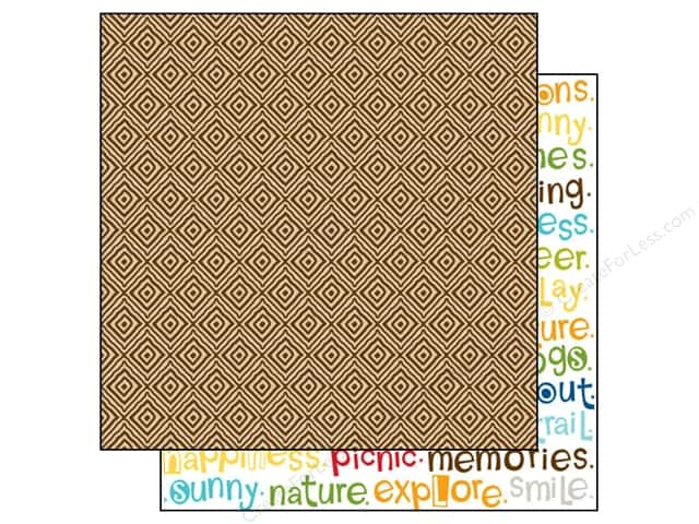 Bella Blvd 12 x 12 in. Paper Campout Trail Mix (25 sheets)