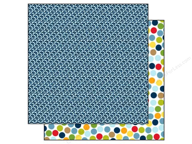 Bella Blvd 12 x 12 in. Paper Campout Go Jump In The Lake (25 pieces)