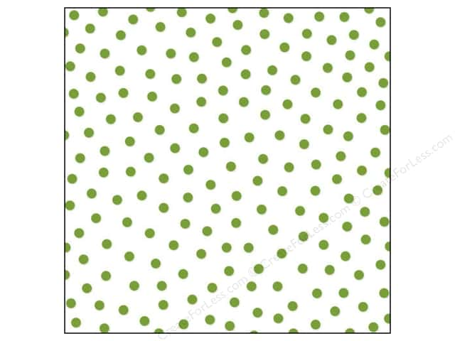 Bella Blvd Clear Cuts Transparency 12 x 12 in. Color Chaos Confetti Guacamole (12 sheets)