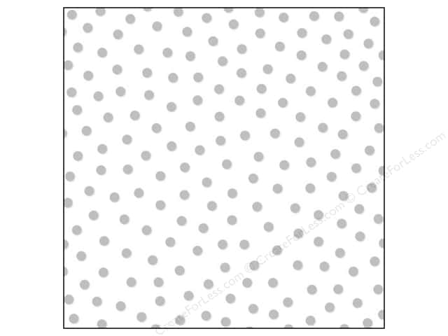 Bella Blvd Clear Cuts Transparency 12 x 12 in. Color Chaos Confetti Silver (12 sheets)
