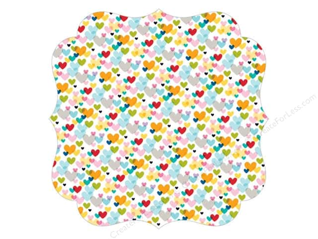 Bella Blvd Invisibles Die-Cut Transparency 12 x 12 in. Color Chaos First Love (12 sheets)