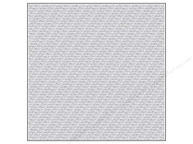 Bella Blvd Clear Cuts Transparency 12 x 12 in. Star Student Typewriter (12 sheets)