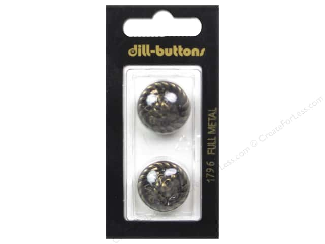 Dill Shank Buttons 13/16 in. Antique Brass #1796 2pc.