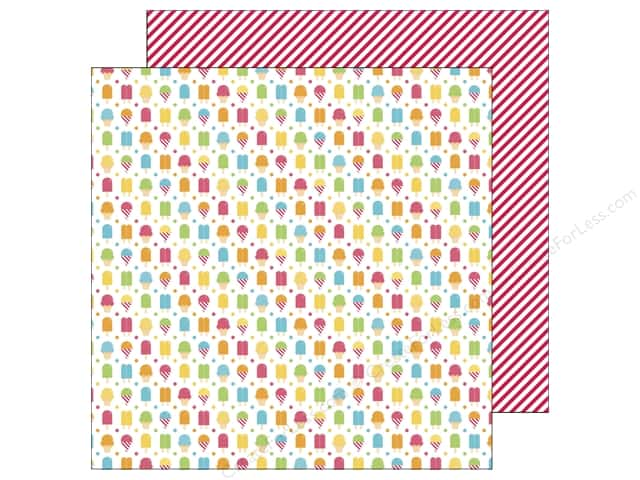 Doodlebug 12 x 12 in. Paper Sunkissed Cool Treats (25 sheets)