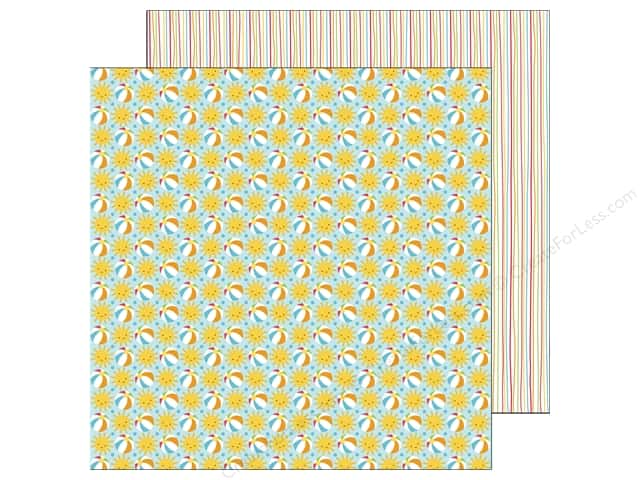 Doodlebug 12 x 12 in. Paper Sunkissed Beach Party (25 sheets)