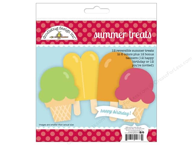 Doodlebug Paper Craft Kit Sunkissed Summer Treats