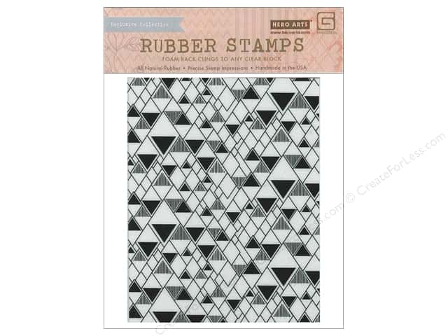 BasicGrey Rubber Stamp Prism Triangle Background