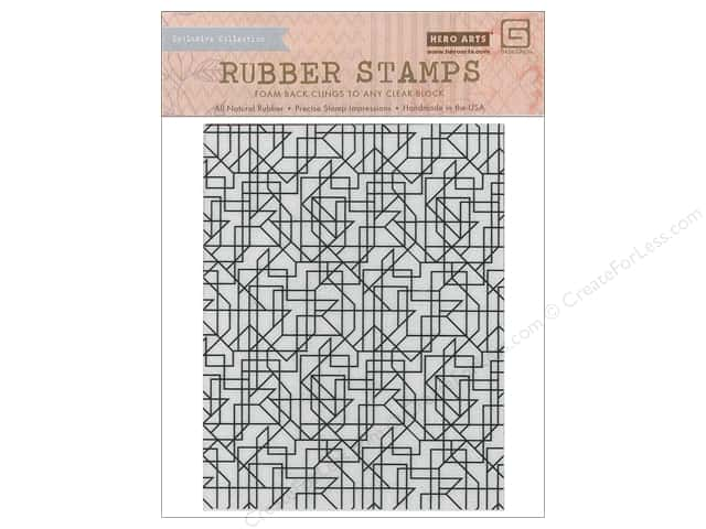 BasicGrey Rubber Stamp Prism Lines Background