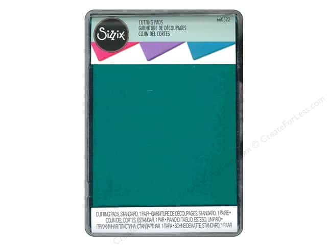 Sizzix Cutting Pad Standard 2 pc. Mint