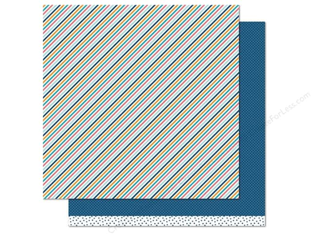 Lawn Fawn 12 x 12 in. Paper Beachside Flip-Flop (12 sheets)