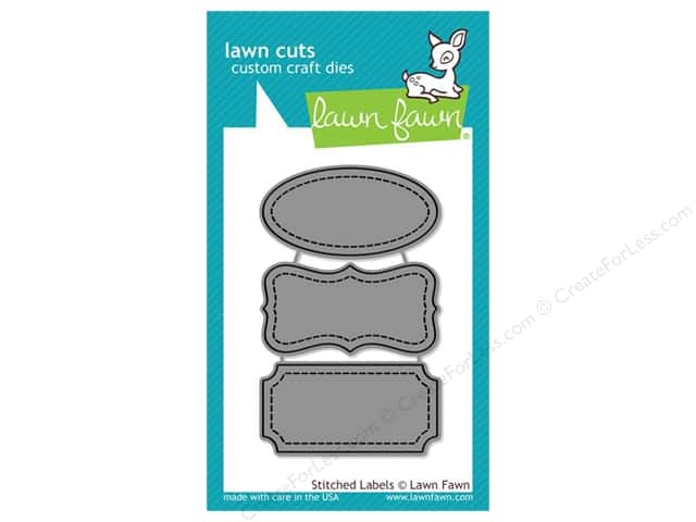 Lawn Fawn Lawn Cuts Die Stitched Labels