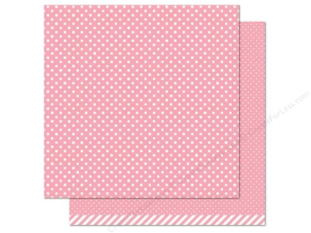 Lawn Fawn 12 x 12 in. Paper Let's Polka Strawberry Polka (12 sheets)