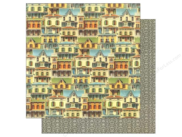 Graphic 45 12 x 12 in. Paper Artisan Style This Old House (25 sheets)