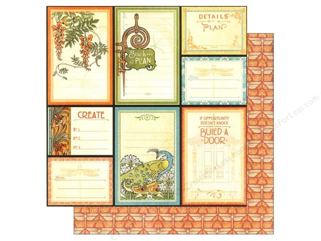 Graphic 45 12 x 12 in. Paper Artisan Style Attention To Detail (25 sheets)