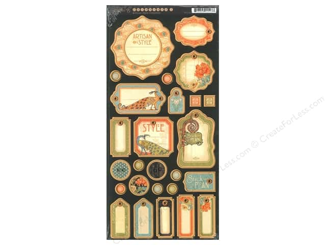 Graphic 45 Journaling Chipboard Artisan Style