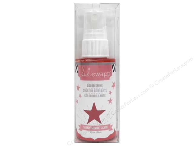 Heidi Swapp Color Shine Spritz 2 oz. Salmon