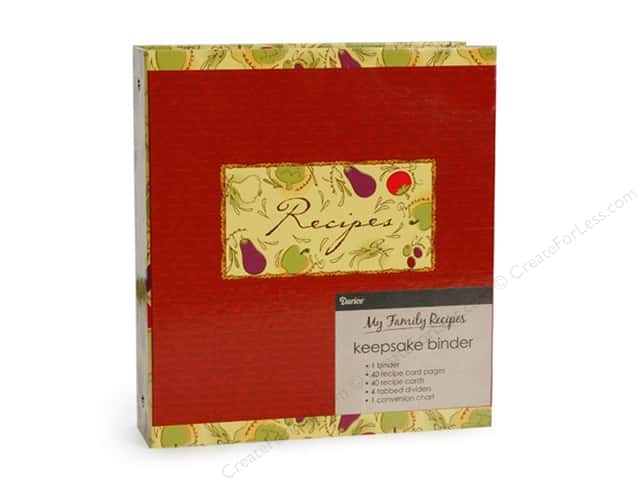 Darice Recipe Binder Tuscan