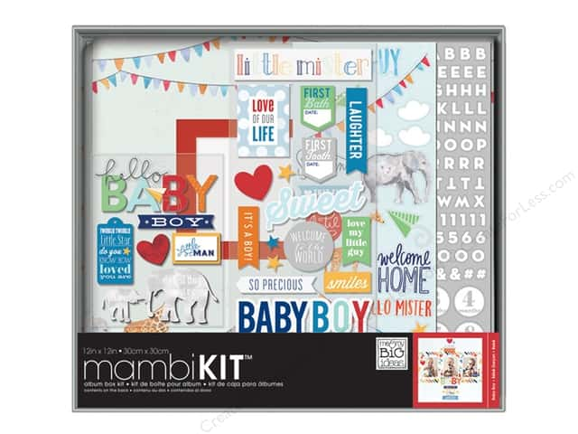 "Me&My Big Ideas Album Kit Box 12""x 12"" Baby Boy"