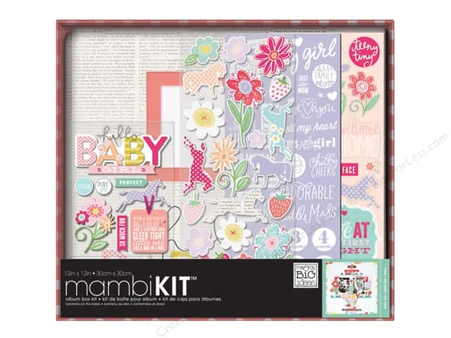 "Me&My Big Ideas Album Kit Box 12""x 12"" Baby Girl"