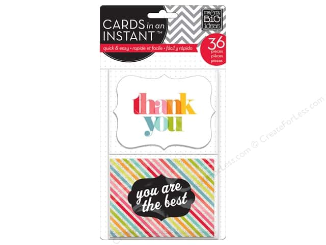 MAMBI Cards In An Instant Thank You Bright