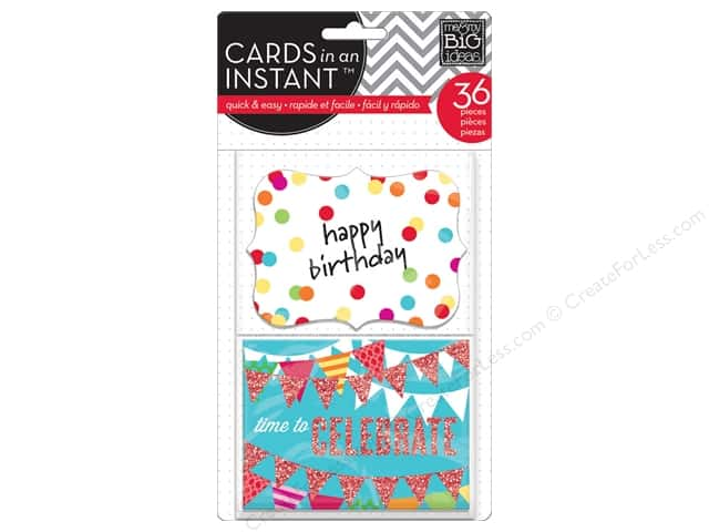 MAMBI Cards In An Instant Happy Birthday Primary