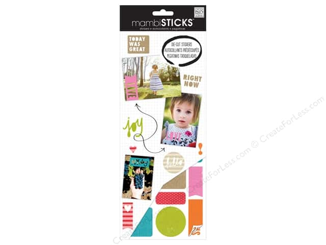 Me & My Big Ideas Sticks Die Cut Stickers Cut Out Inspiration