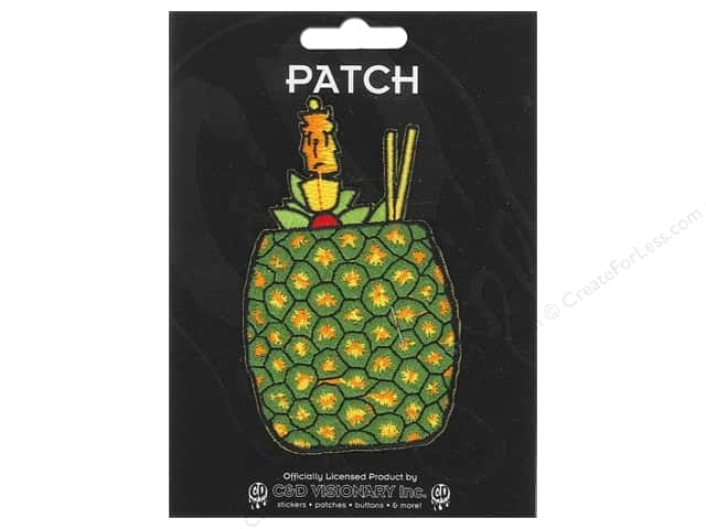 C&D Visionary Applique Pineapple Drink
