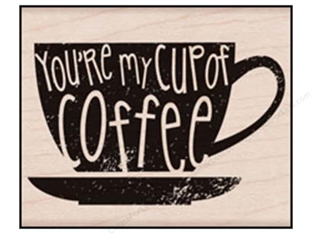 Hero Arts Rubber Stamp You're My Cup Of Coffee