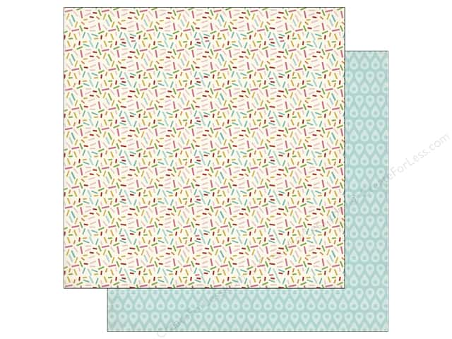 Carta Bella 12 x 12 in. Paper Soak Up The Sun Sprinkles (25 sheets)