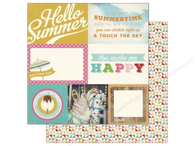 Carta Bella 12 x 12 in. Paper Soak Up The Sun Journal Cards 4 x 6 in. (25 sheets)
