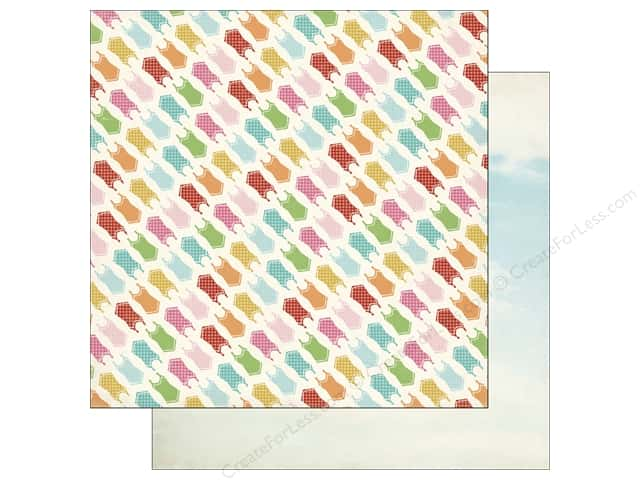 Carta Bella 12 x 12 in. Paper Soak Up The Sun Swimsuits (25 sheets)