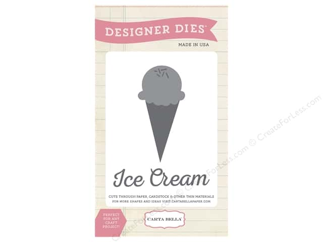 Carta Bella Designer Dies Soak Up The Sun Ice Cream Scoop