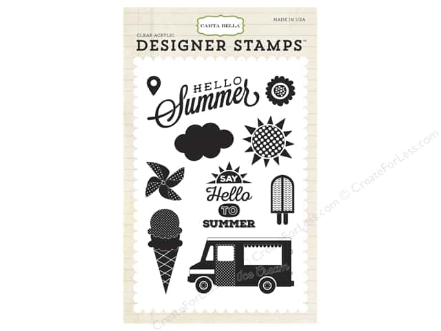 Carta Bella Designer Stamps Soak Up The Sun