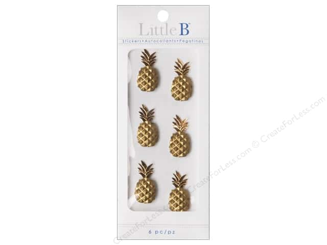 Little B Sticker Mini Pineapple