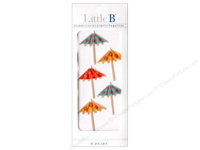 Little B Sticker Mini Drink Umbrella