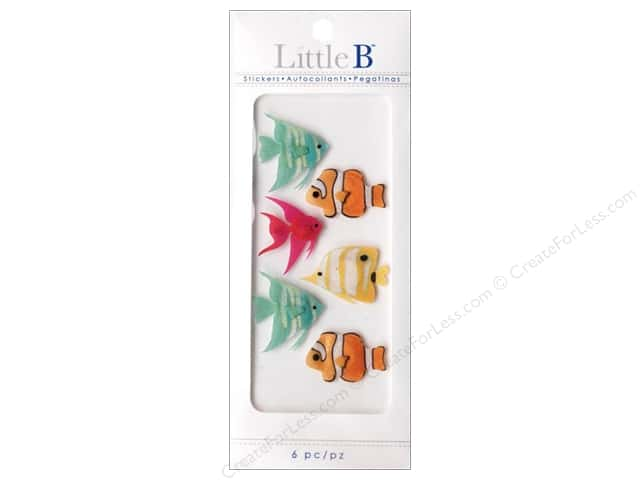 Little B Sticker Mini Tropical Fish