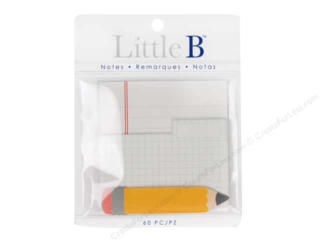 Little B Paper Adhesive Notes Notepad