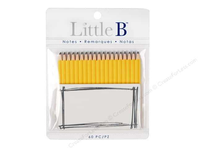 Little B Paper Adhesive Notes Pencil