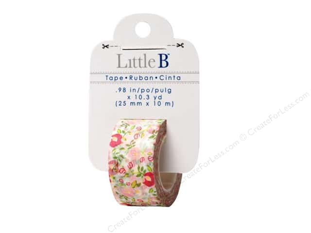 Little B Decorative Paper Tape 1 in. Floral