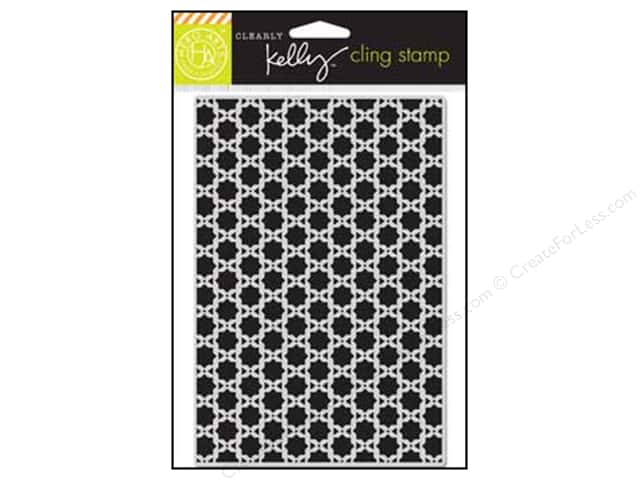 Hero Arts Cling Stamp Kelly's Background Squares