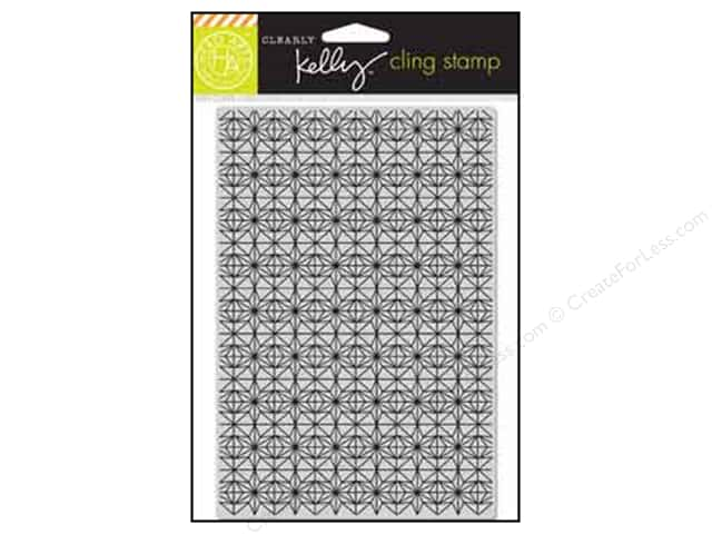 Hero Arts Cling Stamp Kelly's Background Stars