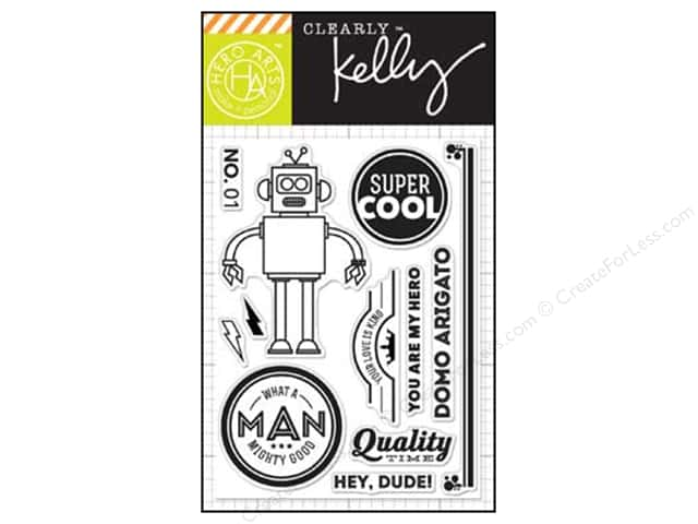 Hero Arts Poly Clear Stamps Kelly's  Super Cool