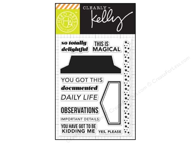 Hero Arts Poly Clear Stamps Kelly's Daily Life