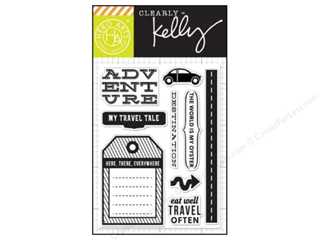 Hero Arts Poly Clear Stamps Kelly's Destination