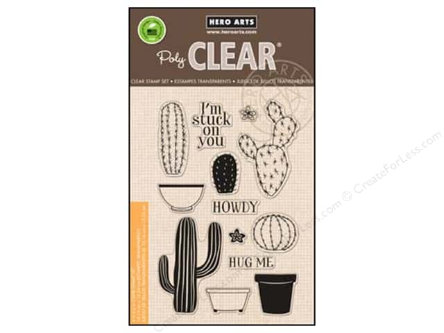 Hero Arts Poly Clear Stamps Your Own Cactus