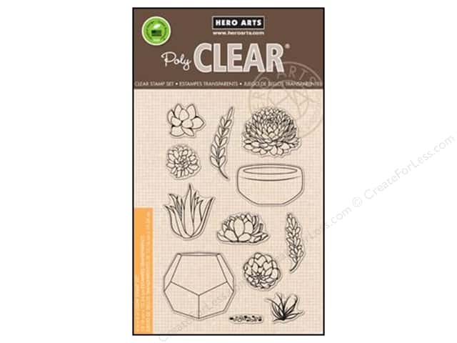Hero Arts Poly Clear Stamps Your Own Succulents