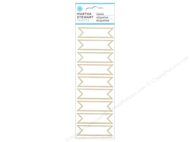 Martha Stewart Sticker Labels Banner
