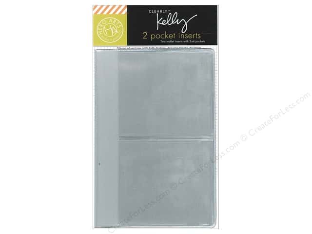 "Hero Arts Accessories Clearly Kelly Wallet Pocket Inserts 3""x 4"""