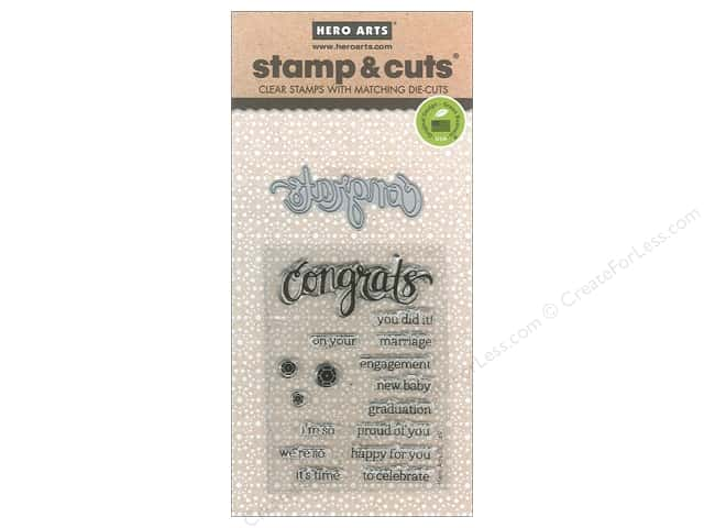Hero Arts Stamp & Cuts Congrats